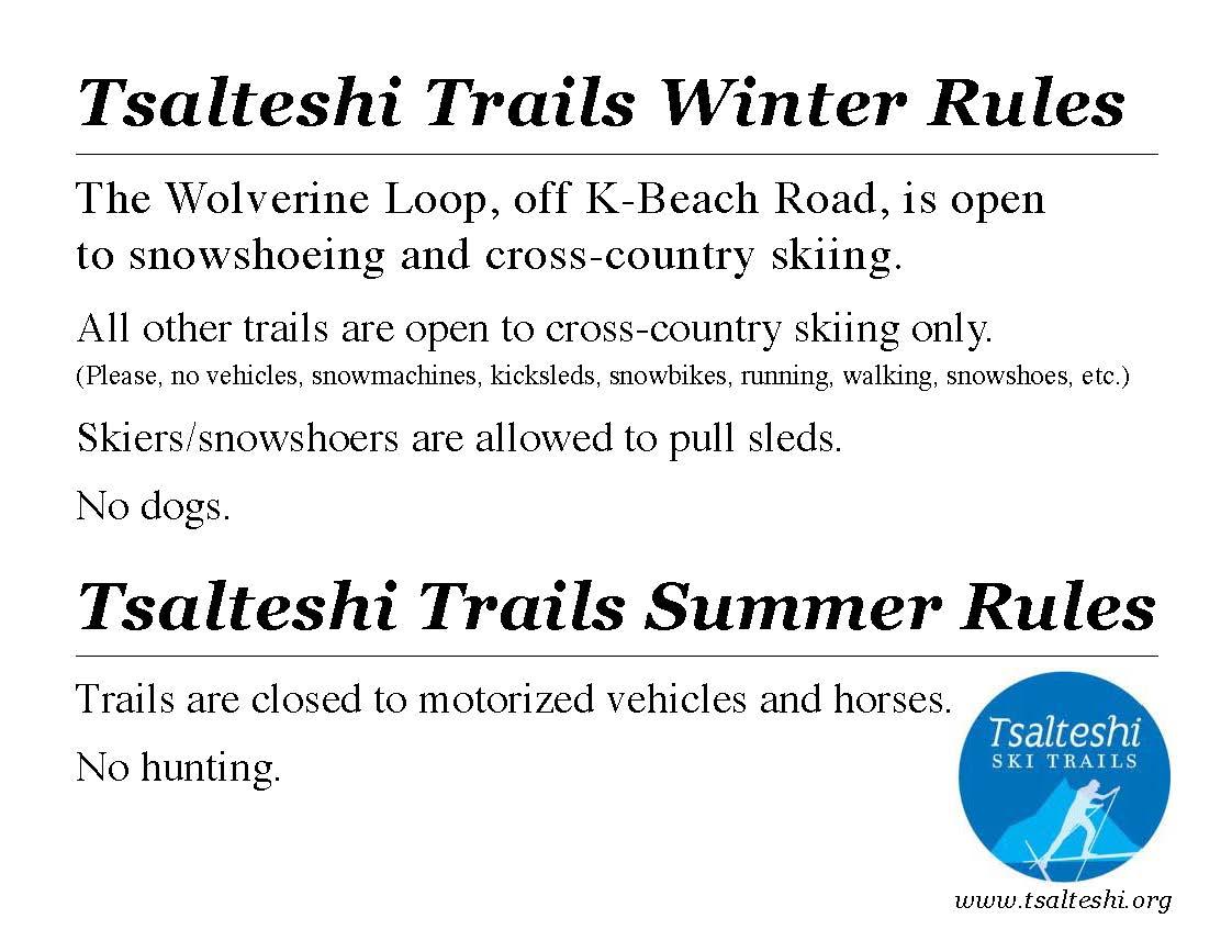 TTA winter summer rules